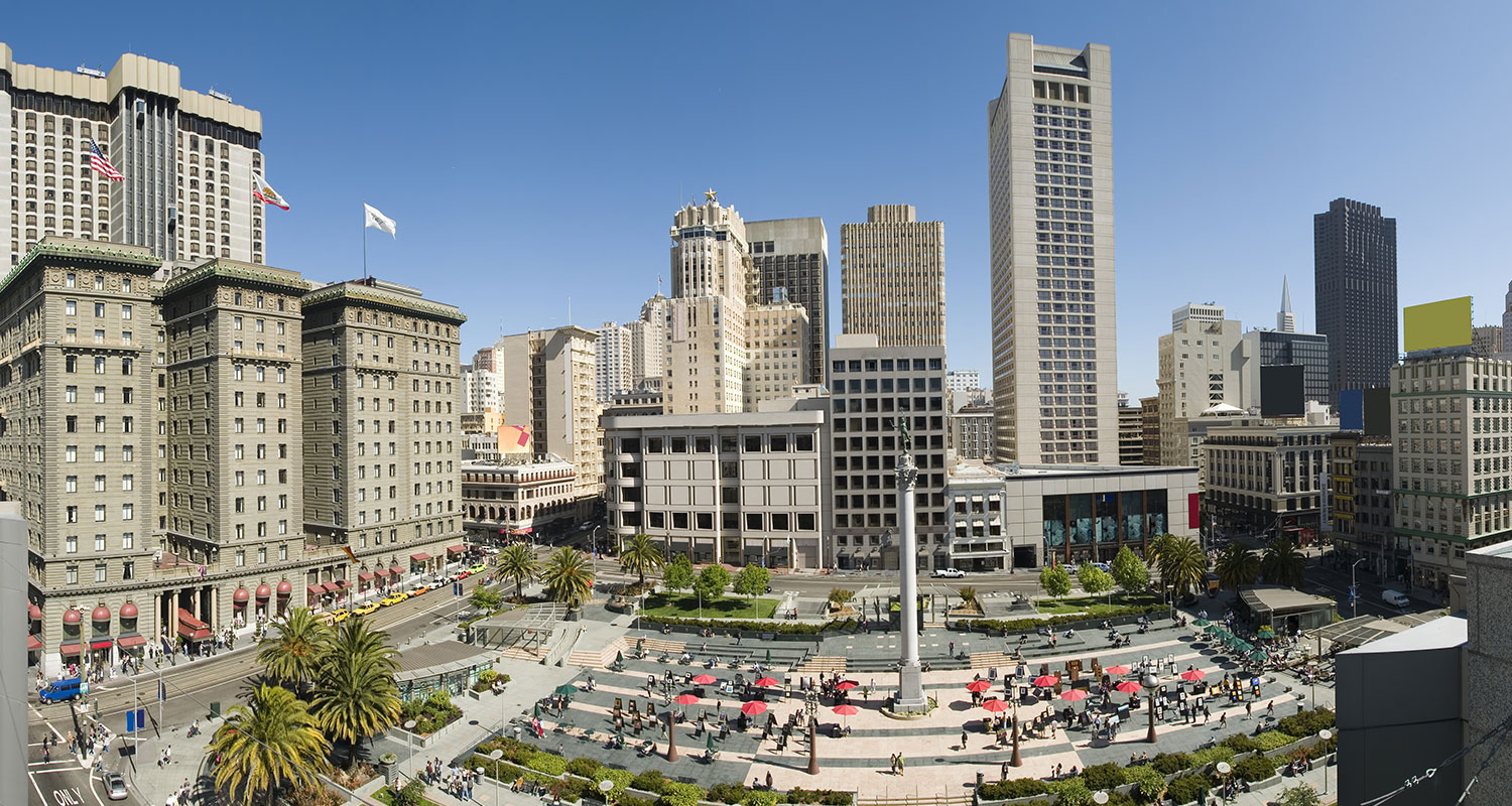 TOP SAN FRANCISCO ATTRACTIONS ARE STEPS AWAY